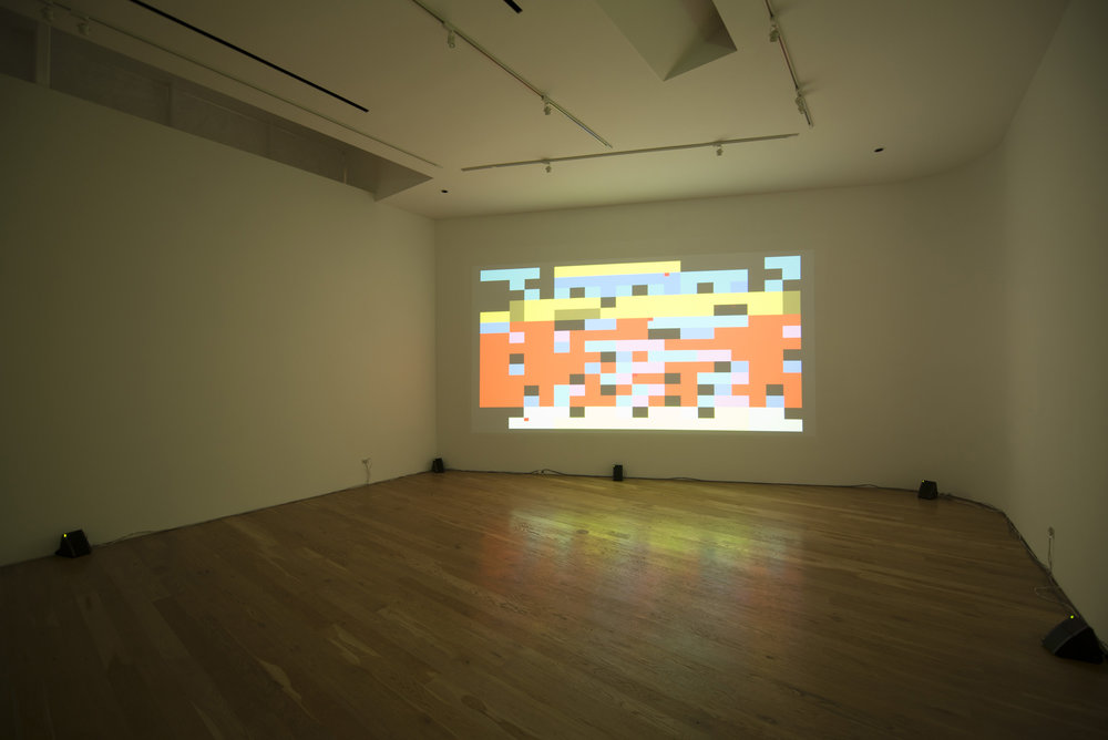 David Galbraith, installation view, 2014.
