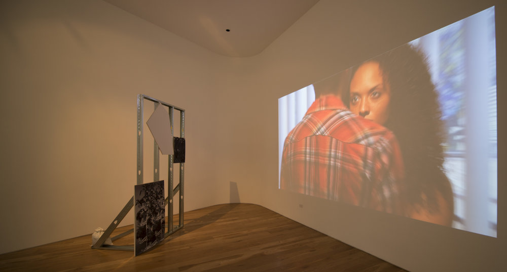 Jibade-Khalil Huffman,  The Four People You Meet at Every Drug Deal , installation view, 2013.