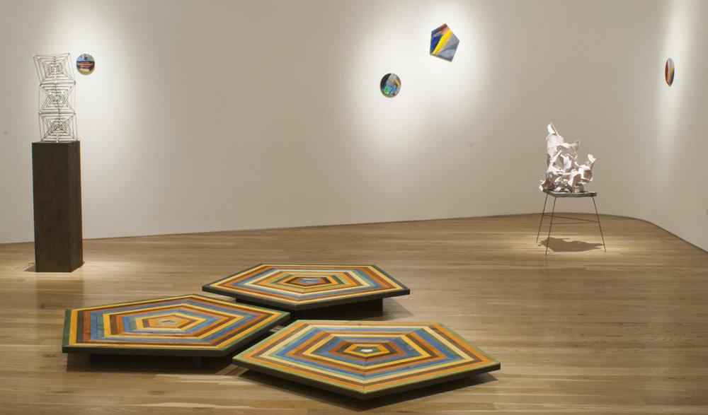 Alice Könitz, Pamela Jorden, Jeff Ono, installation view, 2013.