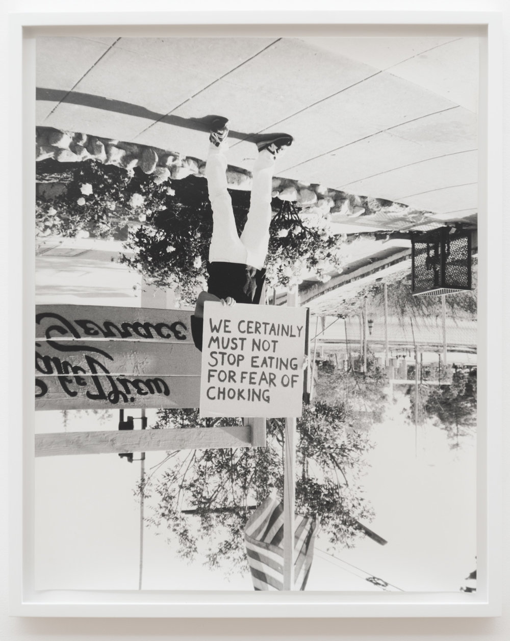 Justin Cole   Lakeview Terrace (People's Daily)  (2013) Silver gelatin print, 16 x 20in. Ed. 3