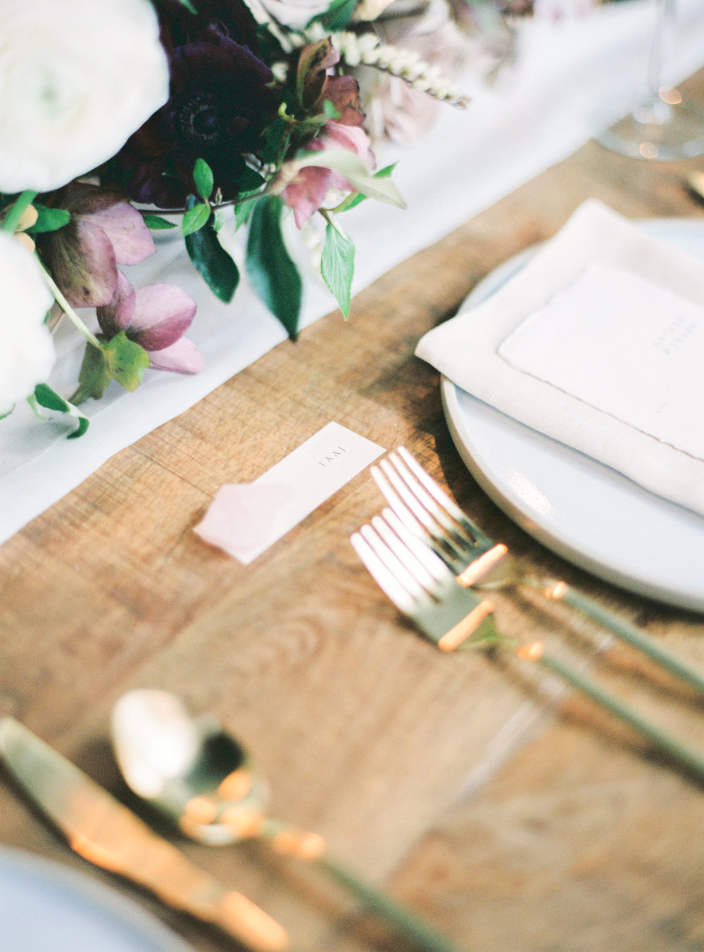 Aravella Event Design | Tablescape Details | Photo by Ben Yew Photography