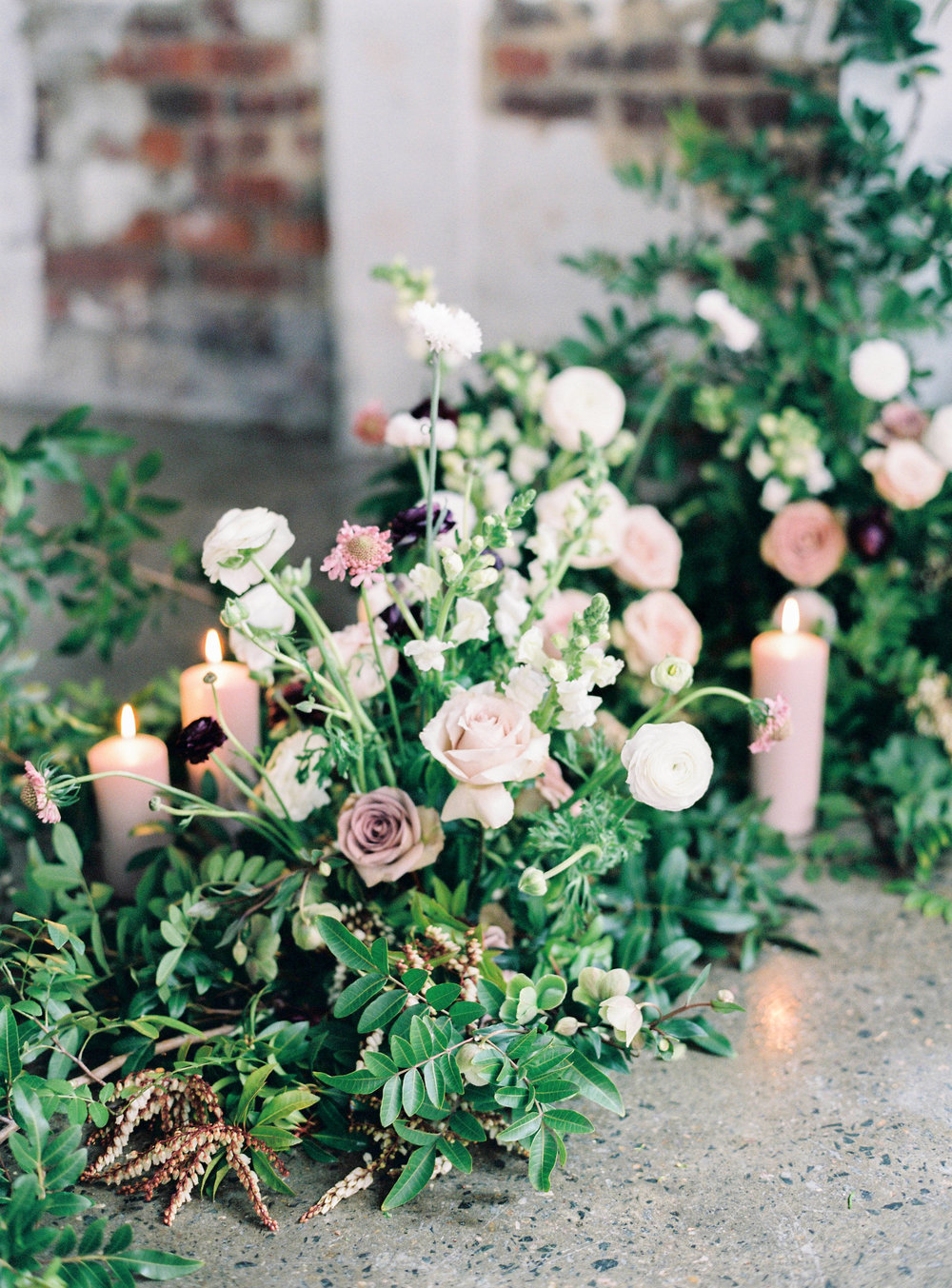 Aravella Event Design | Floral Installation | Photo by Ben Yew Photography