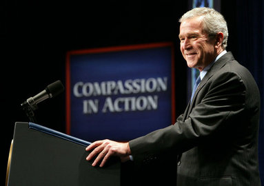 Funded by President George W. Bush -  The program was funded by President George W. Bush's first PEPFAR round of funding (President's Emergency Program for AIDS Relief) and was claimed as an excellent example of how faith-based organizations can impact the world.