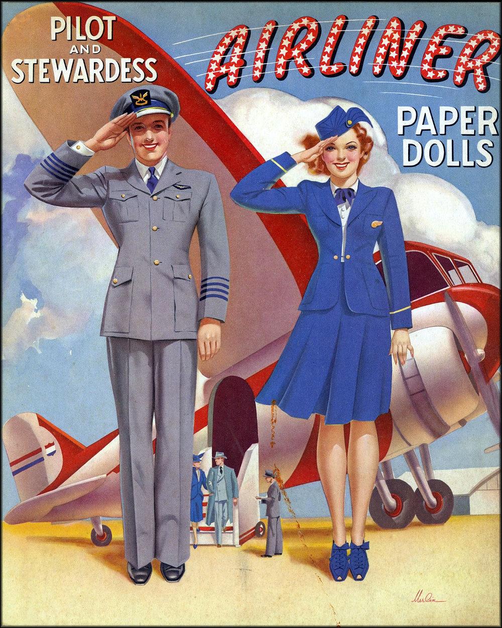 Vintage Travel and Vintage Airlines Cookbooks