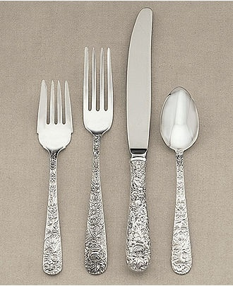 vintage silverware tableware sets cooking