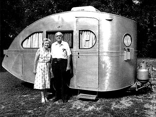 Vintage Campers at vintage cookbooks
