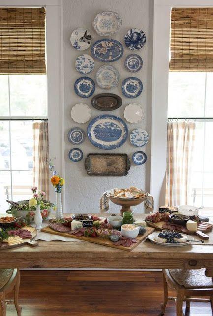 Vintage dishes and beehive vintage cookbooks