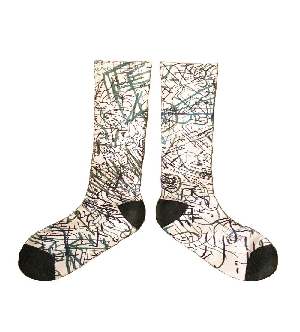 it's only tragic if you indulge it socks stock photo.jpg