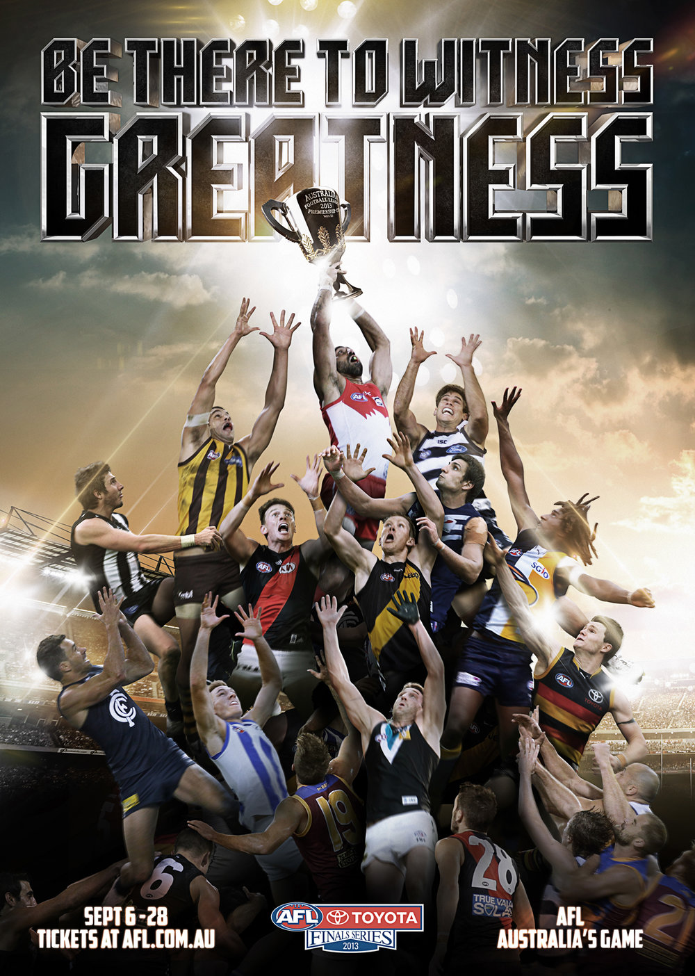 - For several years, I was the lead creative and writer across all of the AFL's advertising. I loved doing it. As a part of this role, I was able to work with legendary You Am I frontman (and North Melbourne tragic) Tim Rogers on a couple of AFL Finals campaigns.The campaigns resonated strongly with the players and the public, and seeing Bulldogs legend Bob Murphy wax lyrical on the campaign for five minutes on AFL 360 was a real highlight. Then to see the campaign parodied during the Brownlow Medal telecast was even more surreal.