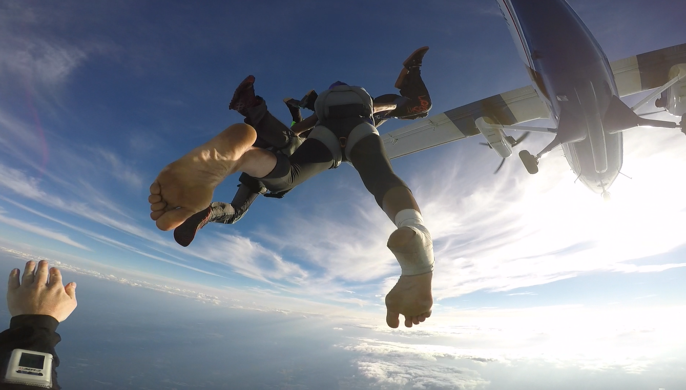 Skydiving as a Woman of Color — Melanin Base Camp