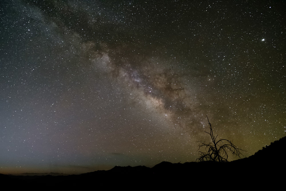 Milky Way from the Chiricahua National Monument