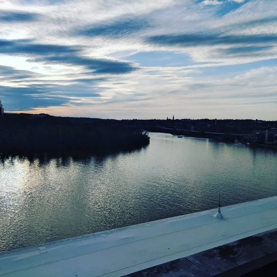 The Potomac River from the terrace of the Kennedy Center.