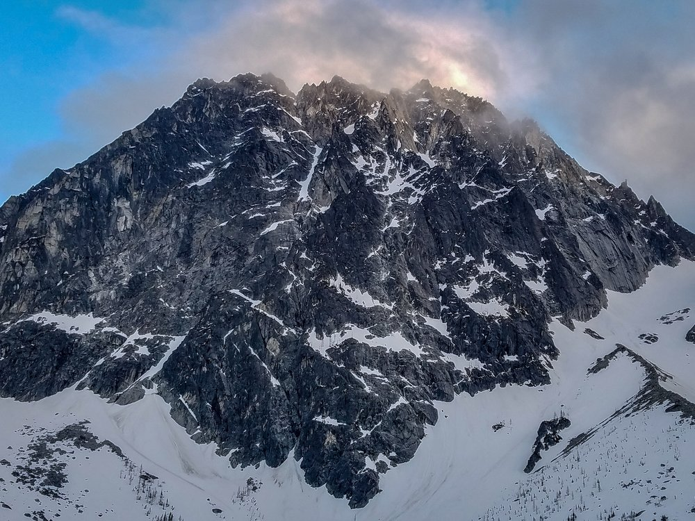 Dragontail Peak 8,840'