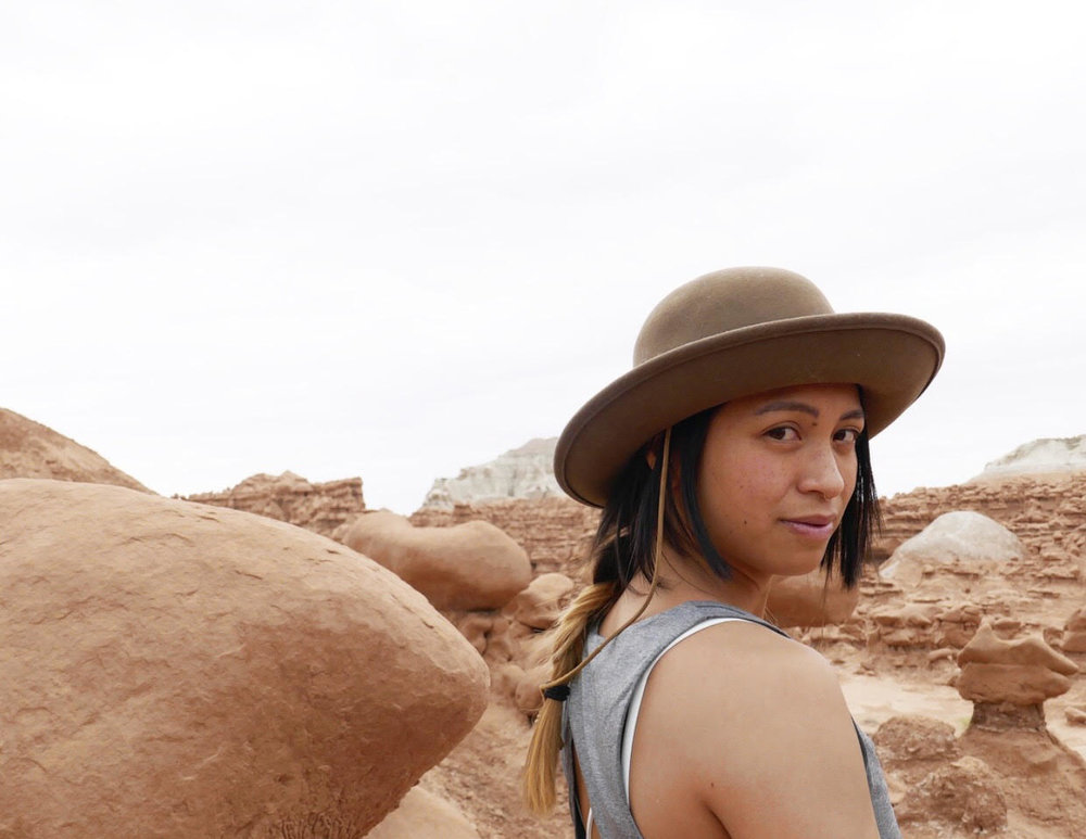 Nirvana Ortanez is a Filipina American snowboarder and a co-founder of Soy Sauce Nation (Photo courtesy of Nirvana Ortanez)