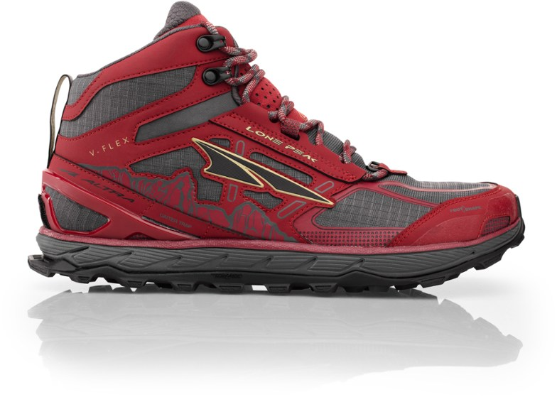 Altra  Lone Peak 4 Mid Mesh Hiking Shoes - Mens