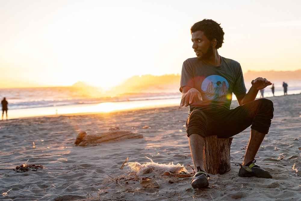 Justin Forrest Parks owes his sense of exploration and curiosity to his parents who raised him to defy expectations and find his own path.  (Photo credit:    Michael Estrada   ,    Brown Environmentalist   )