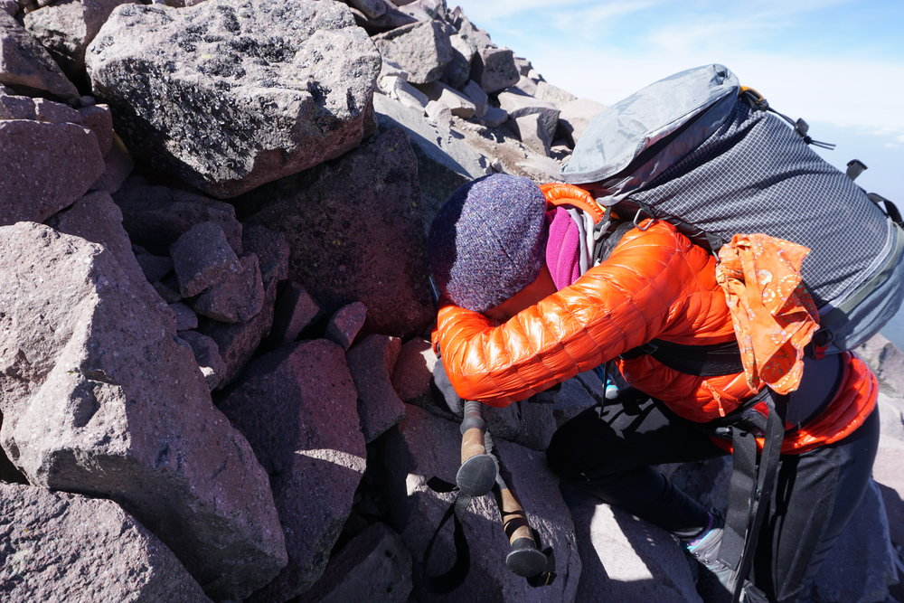 Photo Credit: Chris Rost (near the summit of La Malinche 14,636')