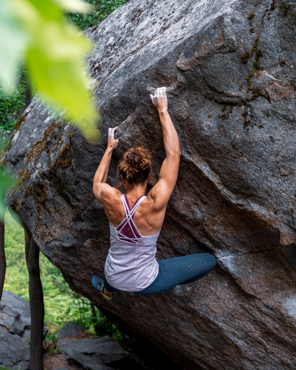 African-American Neuroscientist and climbing activist  Melise Edwards  frequently writes about privilege, racism and sexism in the climbing community on her popular  Instagram  account. Her outspokenness makes her a target for racist and sexist comments from fellow climbers.  Photo courtesy of    Meghan Young   .
