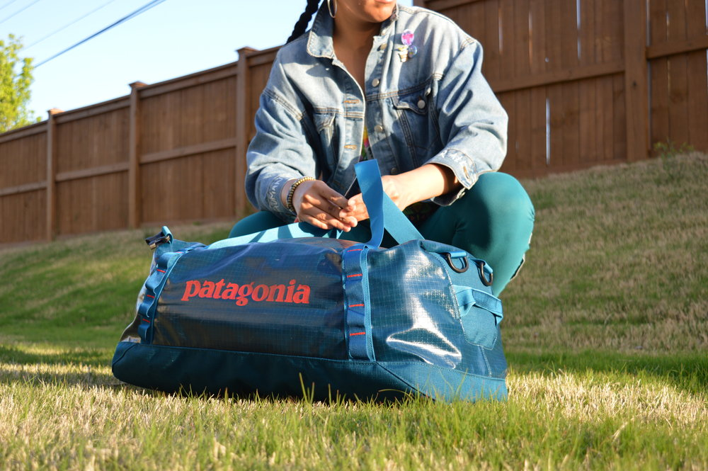 13b293ee1a6 Patagonia Black Hole® Duffel Bag Gear Review — Melanin Base Camp