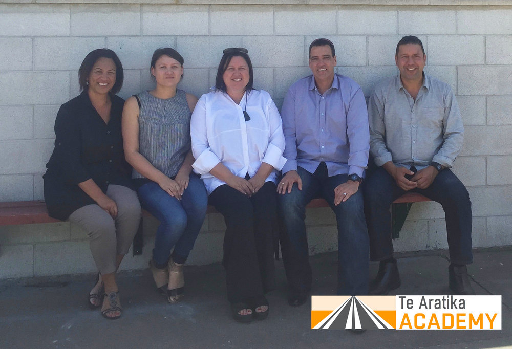 Trust Board members with Casey Tapara (Director).  Riikimaaria Bracken-Rochel, Ronnie Rochel, Markus Rochel, and Johnny Bracken.