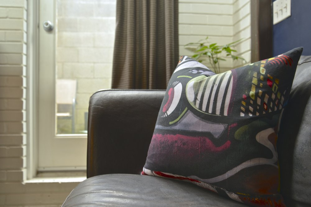 Edgewood Graffiti - SHOP PILLOWS