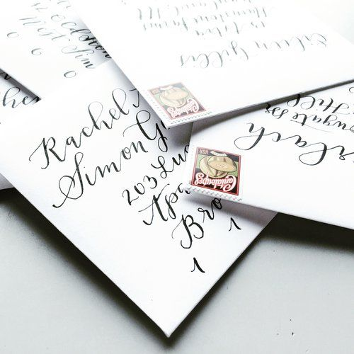 EVERLAND STUDIO HAND ENVELOPE ADRESSING
