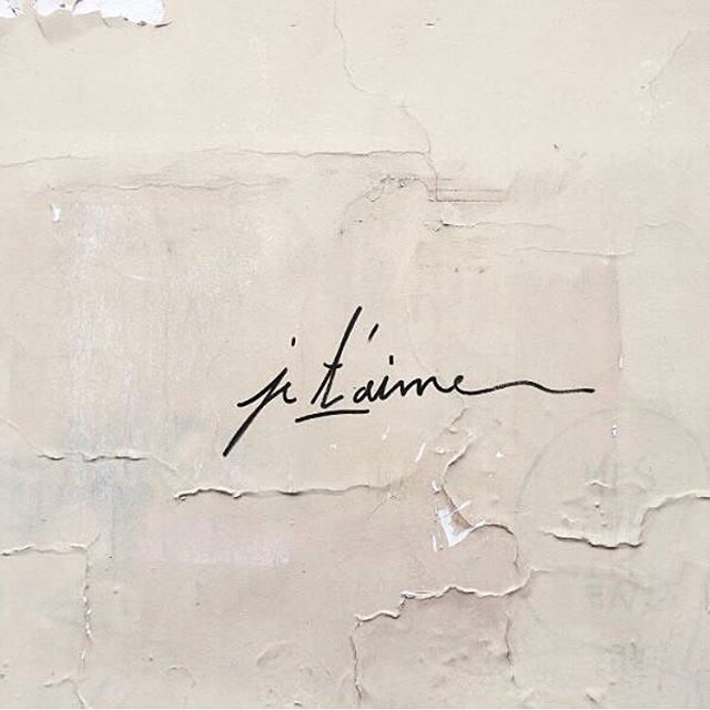 Lettering inspiration ✨ via @violette_fr • • • • • #regram #handlettering #jetaime #minimal #simple
