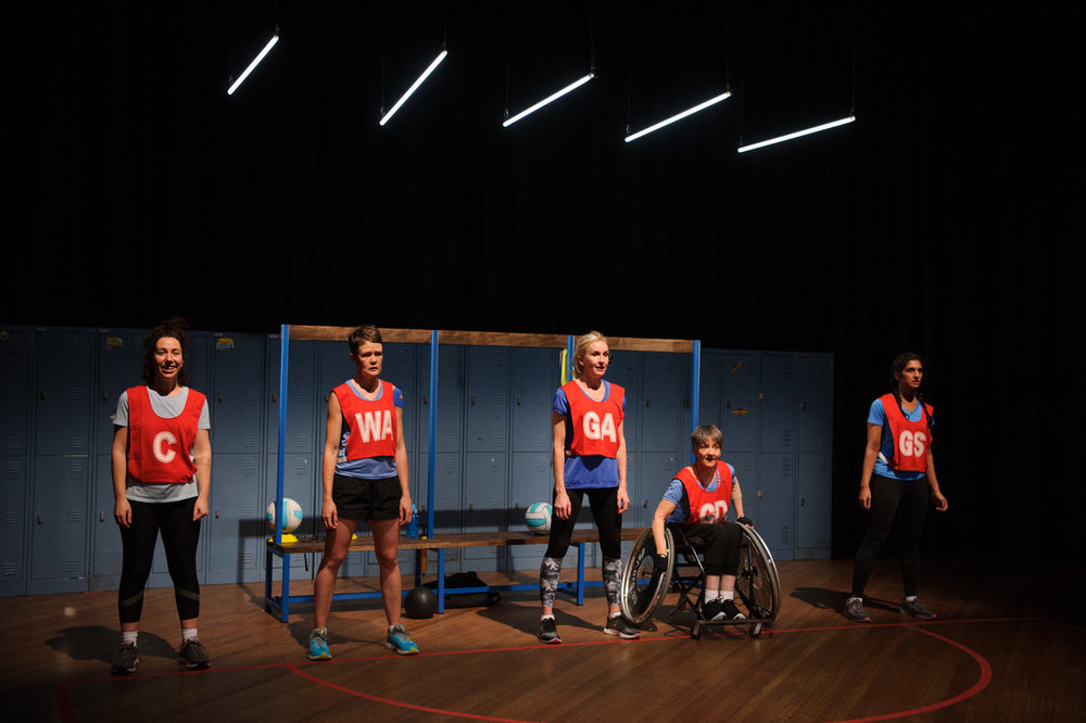 CONTEST  by Emilie Collyer, directed by Prue Clark. Image by Sarah Walker.