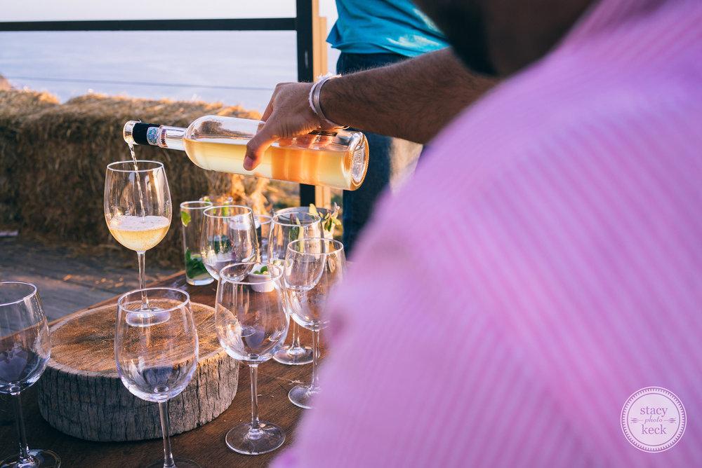 Wine tasting at the famous Bar Bura @ Cuatro Cuatros.