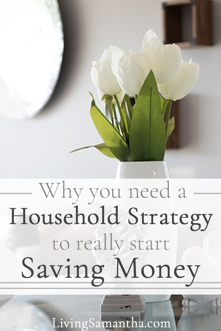 Why you need a household strategy to really start saving money. Have a financial adult conversation with your partner or spouse. Get on the same page about money.