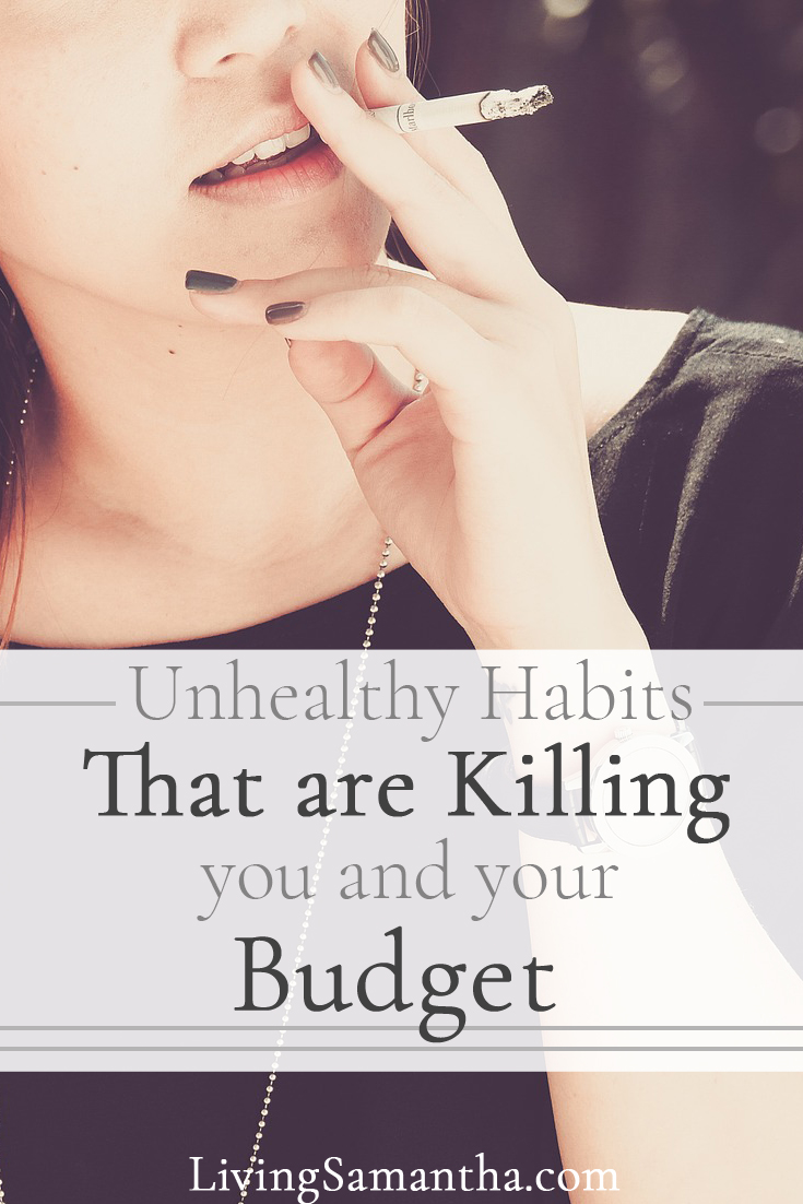 These unhealthy habits are super expensive. They are also killing you. Replace these bad habits with good habits. Save yourself and your wallet.