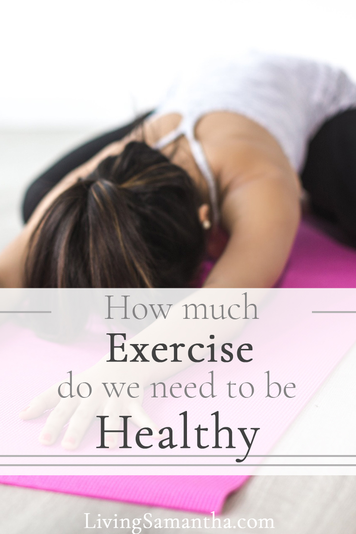 How much exercise do we need to be healthy. How long do we need to workout in order to be at our optimal health? What kind of exercise should we be doing to live longer?