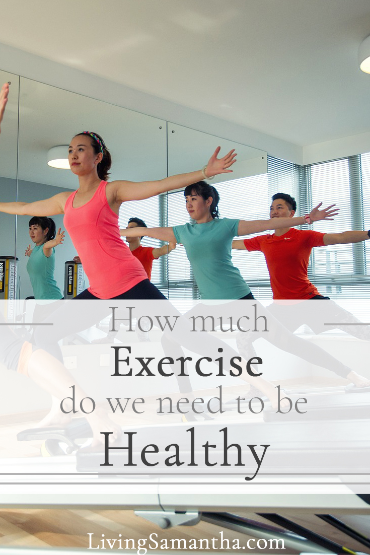 What type of exercise is best. How long should we be exercising? What workout should we do? How to live a longer, healthier lifestyle.