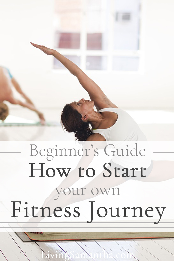 Beginner's Guide to starting your own fitness journey. Get started on your exercise routine. Start small, build momentum, and keep going.