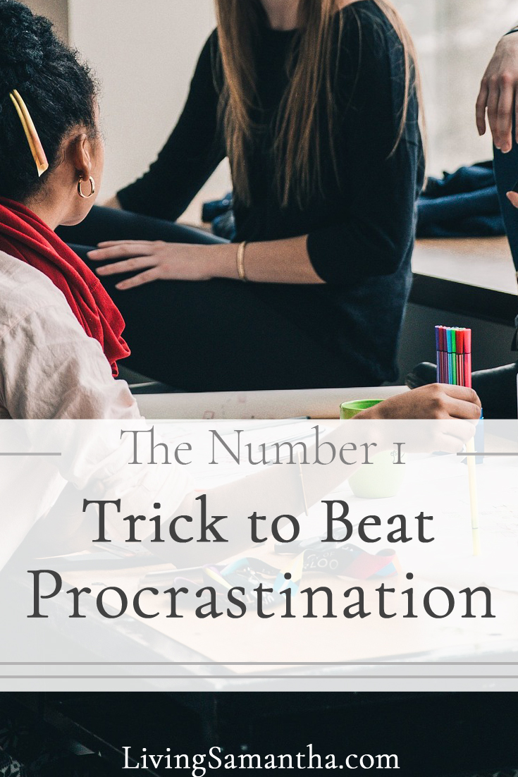 Procrastination is a form of resistance. It keeps us from doing our work. It hurts our performance and creates anxiety. Learn the number one way to overcome procrastination.