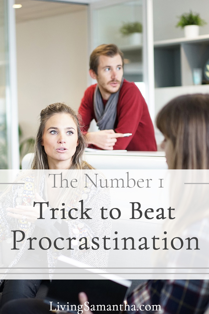 Procrastination keeps us from success. By putting off our work we create stress and anxiety. How do we stop falling for distractions? Find out the number one way to stop procrastination.
