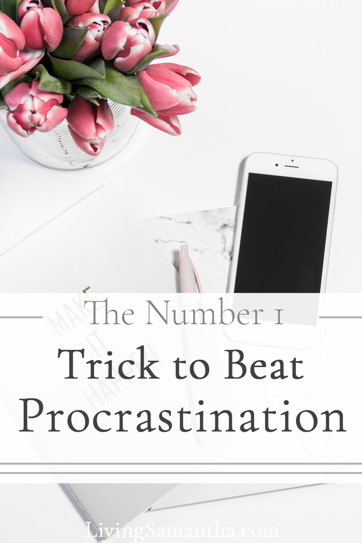 Learn the number one way to stop procrastinating. Stop the distractions. Do the work and reduce your stress.