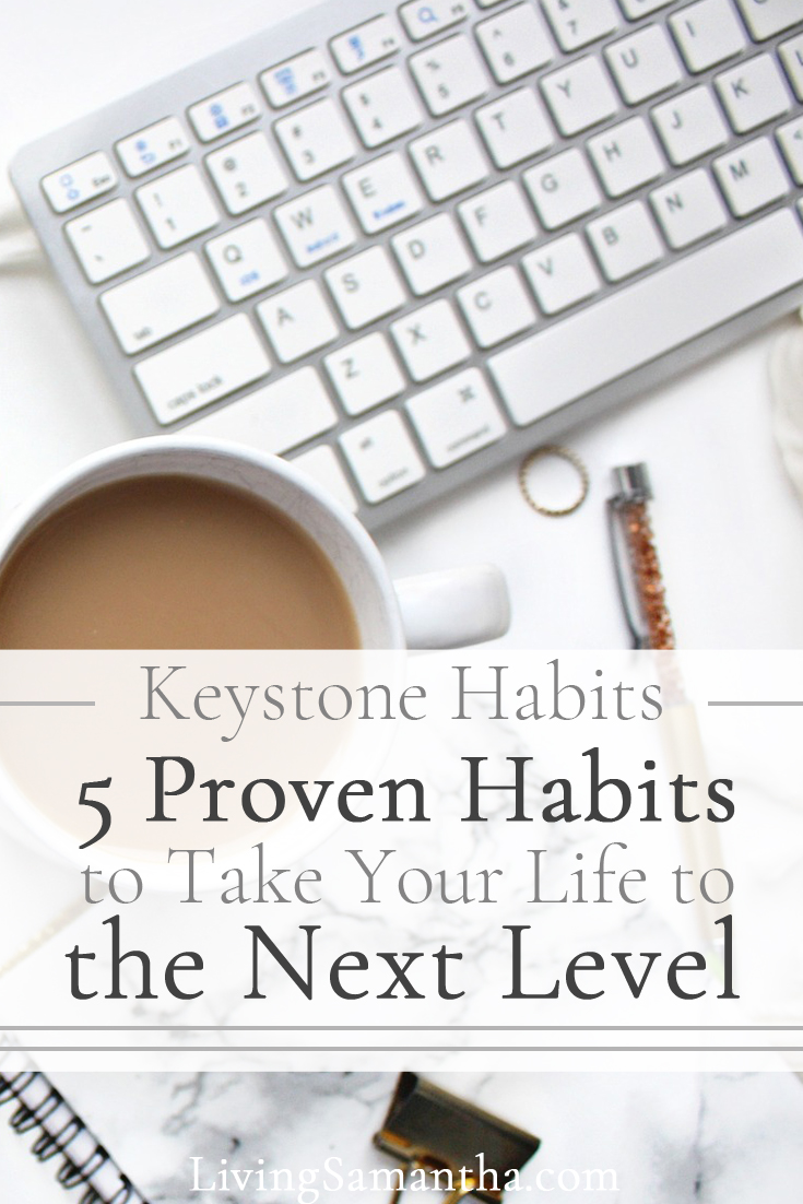 Keystone Habits lead to the development of other good habits. These proven habits lead to the production of many other positive life changes.