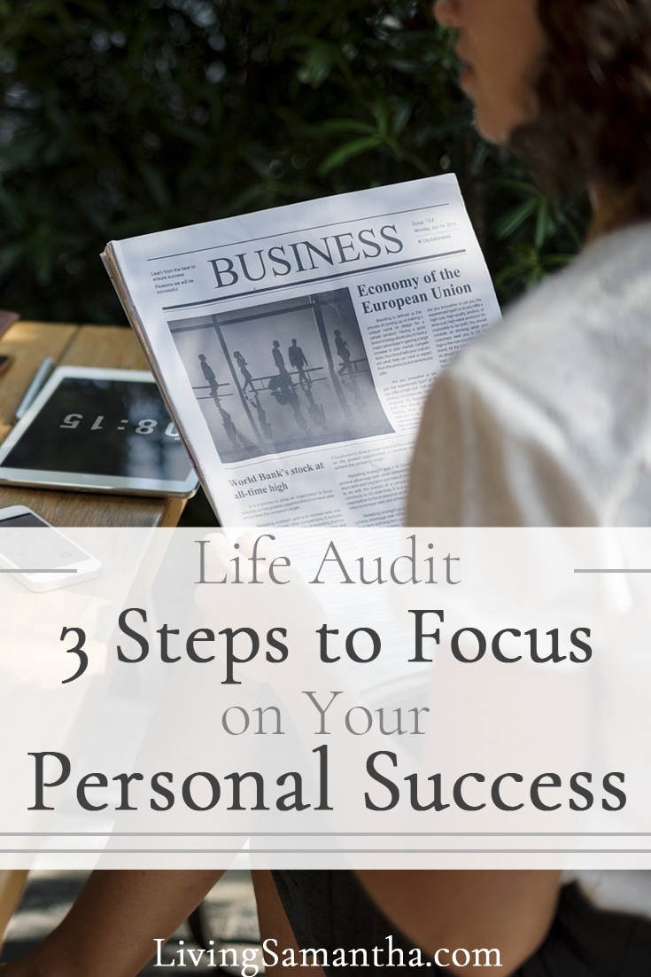 Take the steps to focus. Make a master list and prioritize your time. Choose to focus on the items that will lead you to your own personal success.