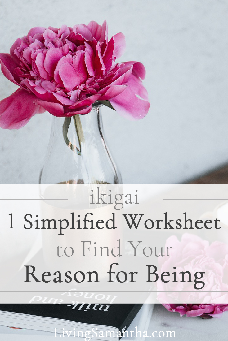 Ikigai means a reason for being. Find your motivation. Find your purpose. Live your dream life.