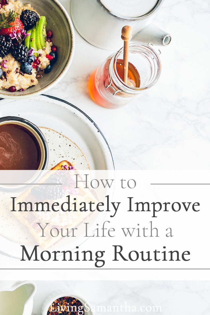 These top 5 habits to add to your morning routine are proven to help immediately improve your life. Follow the examples of the highly successful. Improve your life by starting a morning routine you love.