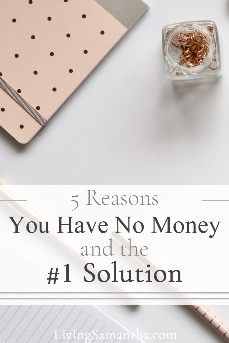 Here are the top 5 reasons you don't have money. Beat the system And solve your problem with the number 1 solution.