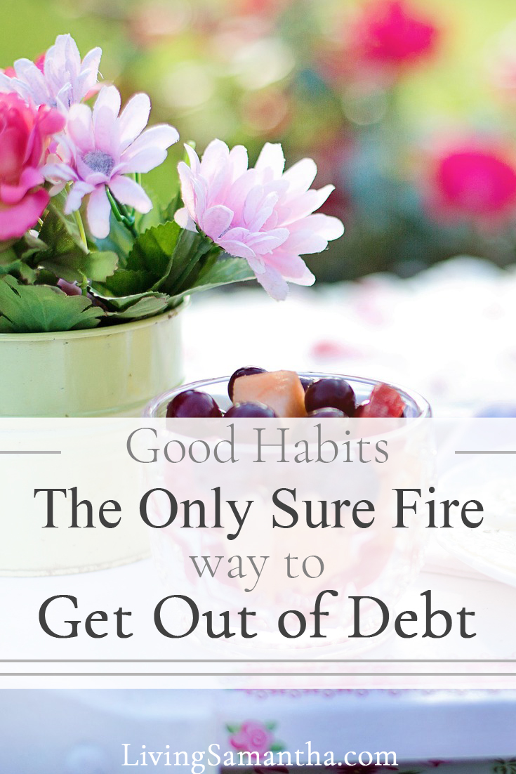 Habits determine 95% of your behavior. What behavior is putting you in debt? How to change your habits and get out of debt and start saving for retirement. How habits lead to behavior modification.
