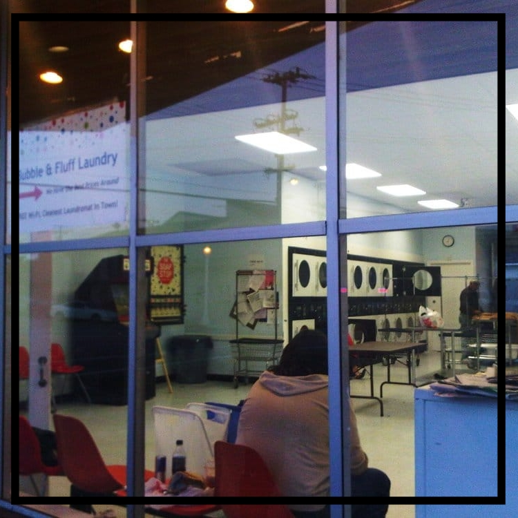Bubble and Fluff     Laundromat   1488 Laurel St. San Carlos, CA 94070