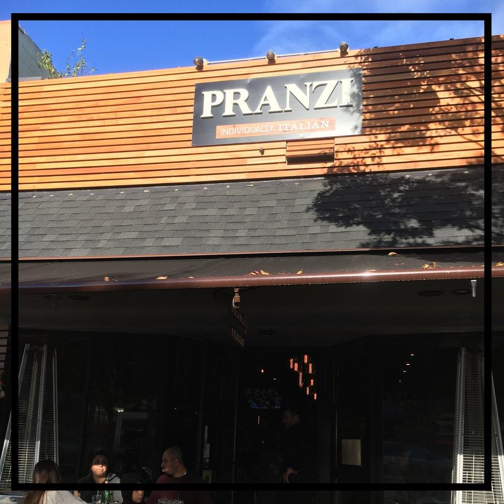 Pranzi   Individually Italian  777 Laurel St. San Carlos, CA 94070