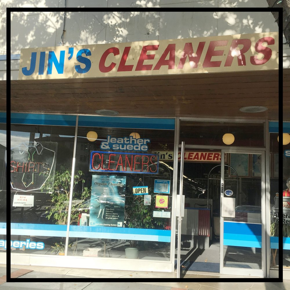 Jin's Cleaners    765 Laurel St. San Carlos, CA 94070