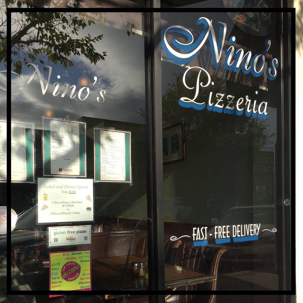 Nino's Ristorante & Pizzeria    621 Laurel St. San Carlos, CA 94070