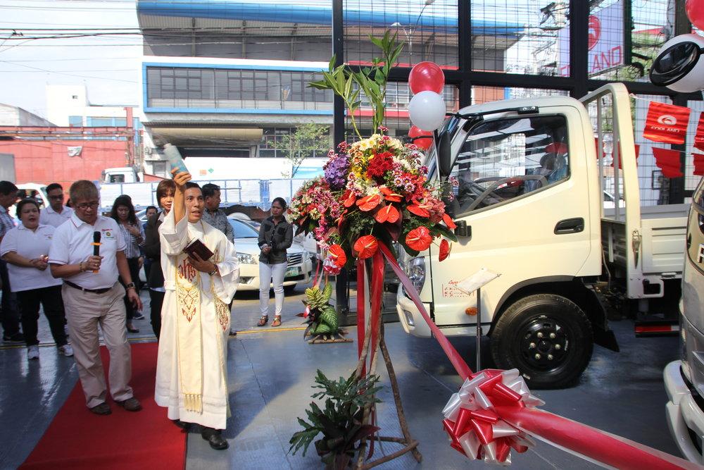 Forland A. Bonifacio Opening - Blessing.JPG