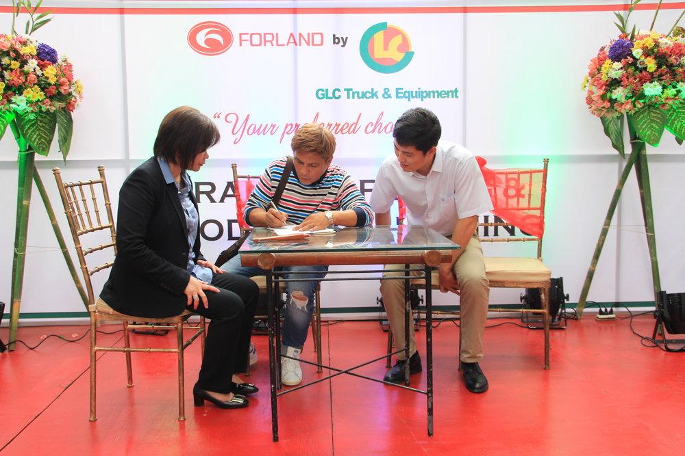 Forland A. Bonifacio Opening - First Sale.JPG