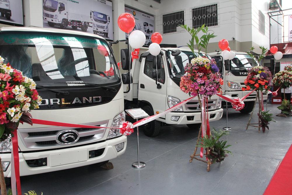 Forland A. Bonifacio Opening - Truck Display.JPG